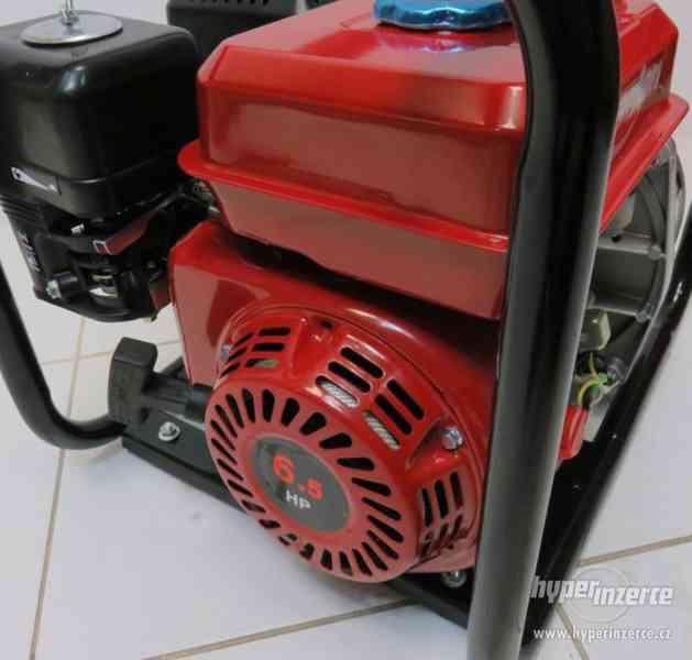Benzínová vodní pumpa čerpadlo 60.000 l/h - foto 3