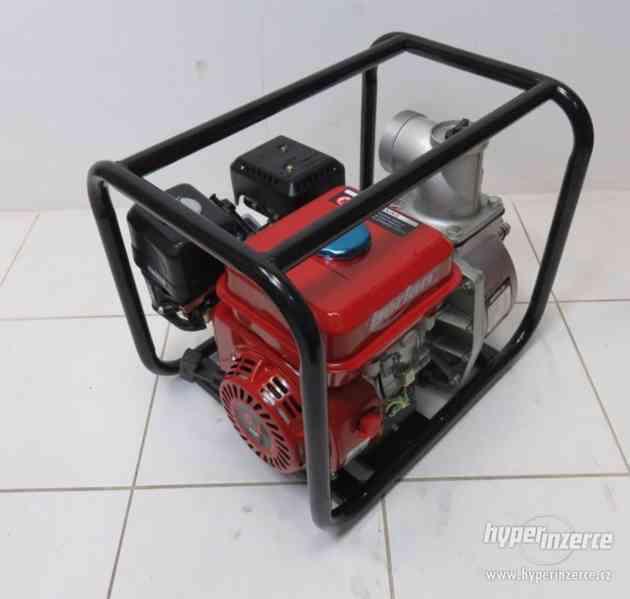 Benzínová vodní pumpa čerpadlo 60.000 l/h - foto 4