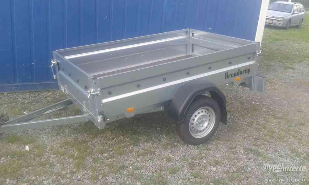 Přívěsný vozík THULE-BRENDERUP 2205S