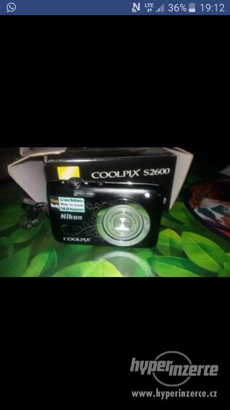 Prodám digitální fotoaparát