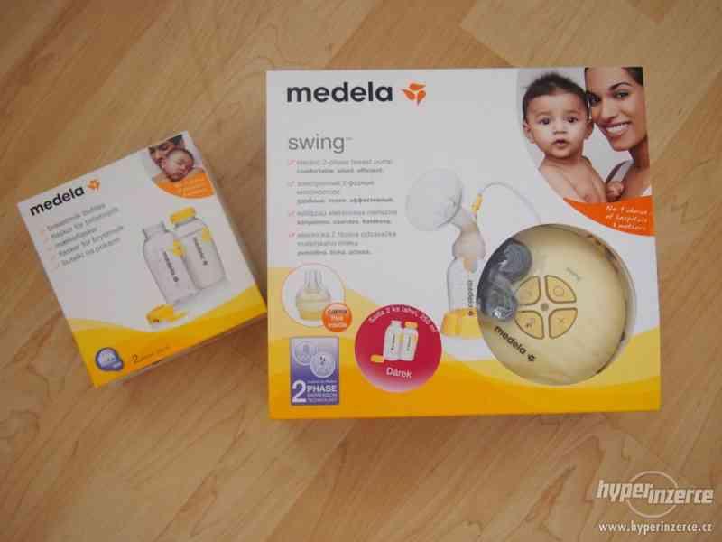 Prodám odsávačku značky Medela Swing