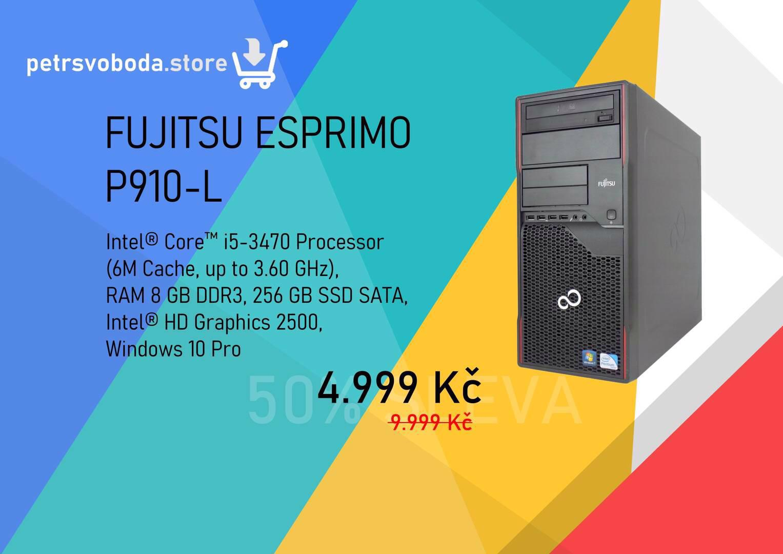 PC Fujitsu-Esprimo P910-L za 4.999 Kč nebo na splátky - foto 1