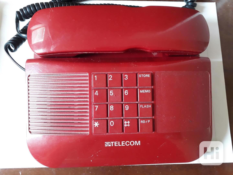 Stolní telefon SPT Telecom - retro  - foto 1