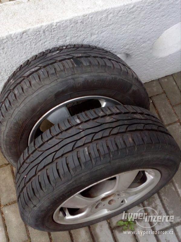 Letní pneumatiky na alu diskách