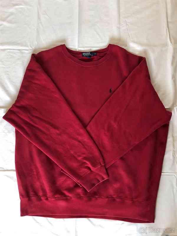 Polo Ralph Lauren svetr červený, v dobrém stavu