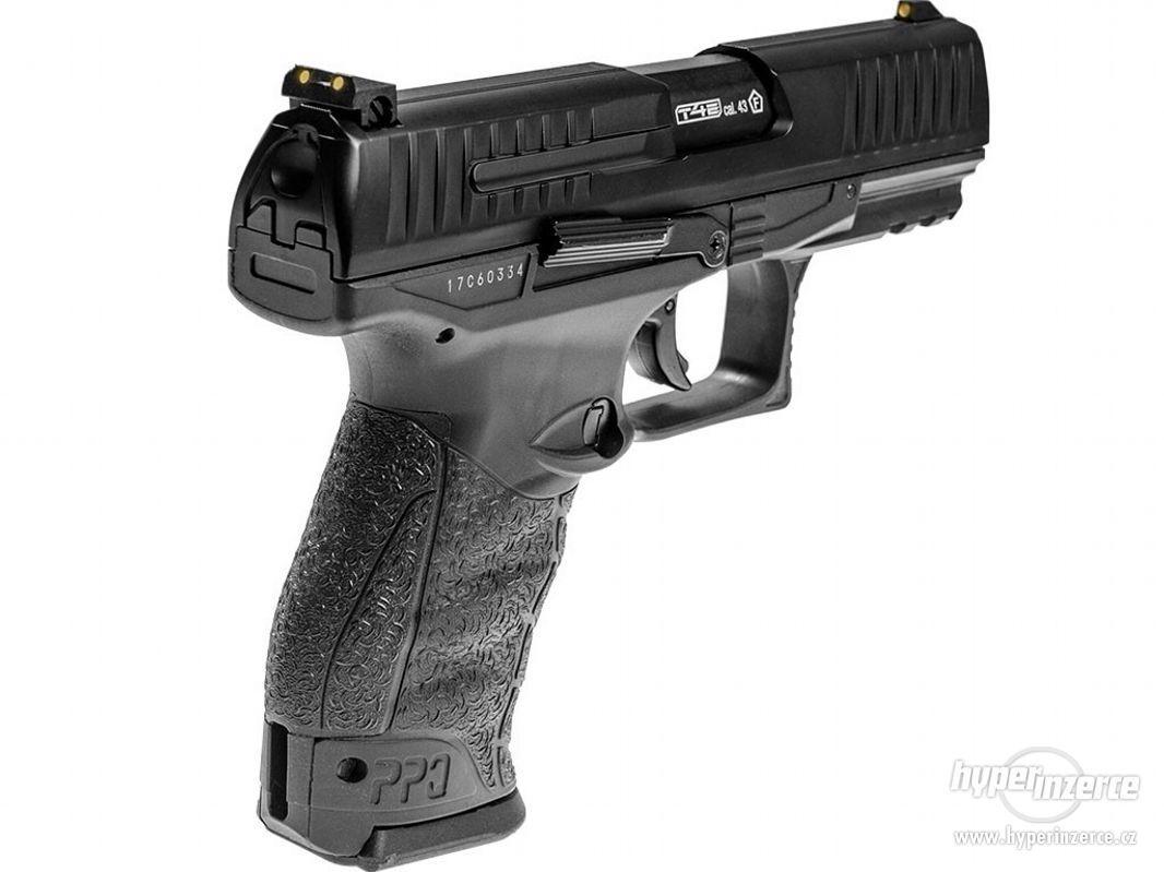 Plynová Pistole na gumové projektily - foto 1