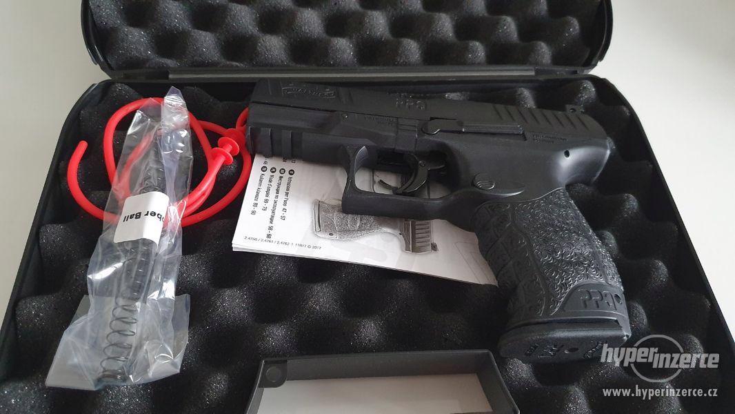 Plynová Pistole na gumové projektily - foto 9
