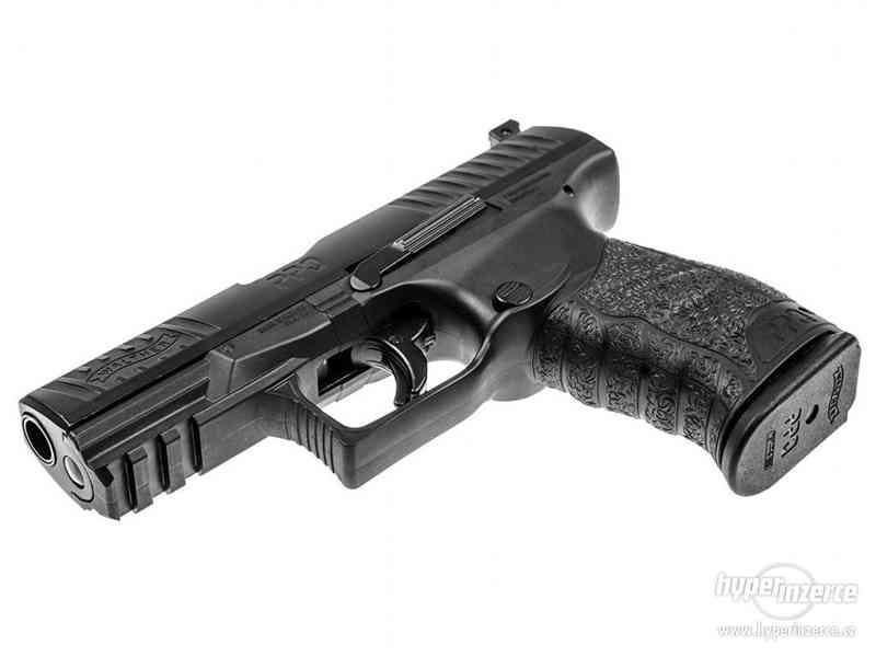 Plynová Pistole na gumové projektily - foto 4