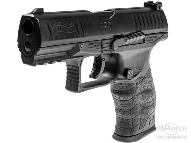 Plynová Pistole na gumové projektily - foto 5