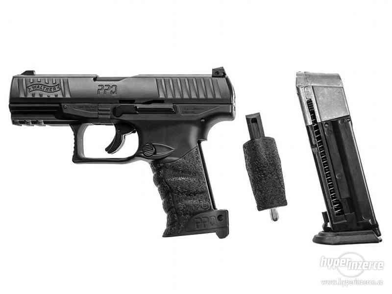 Plynová Pistole na gumové projektily - foto 7