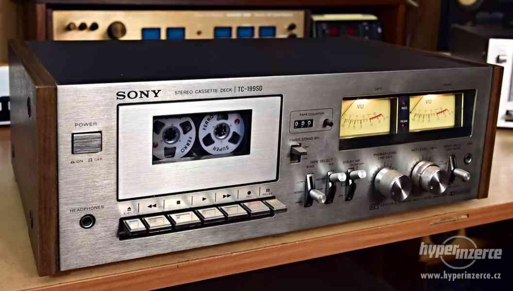 SONY TC-199SD kazetový magnetofon Japonsko 1977
