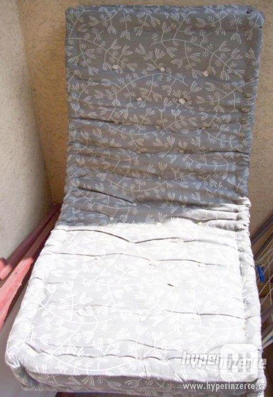 Prodám ratanovou starožitnou postel. - foto 7