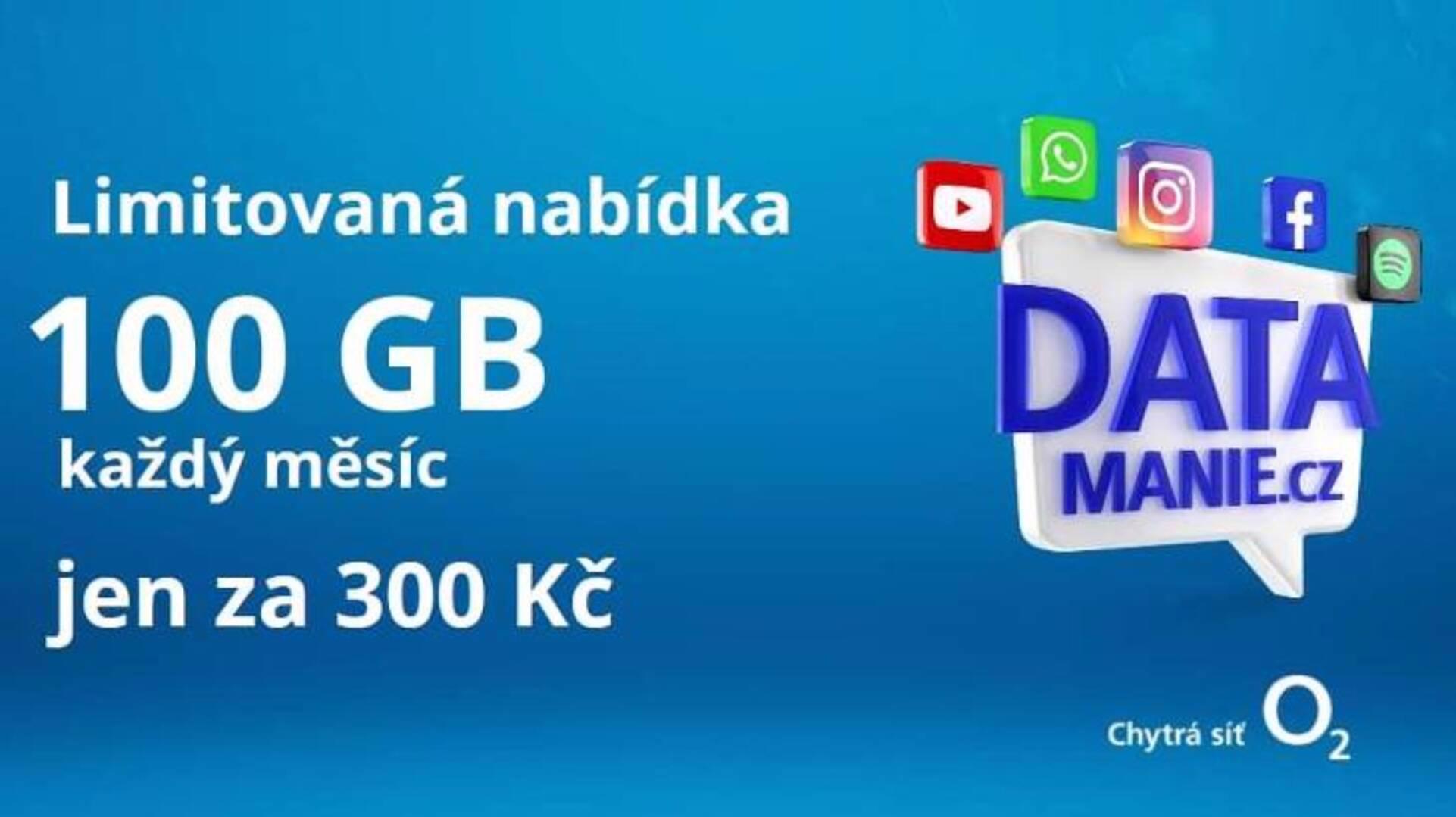 Datová simkarta 100GB za 300Kč - foto 1