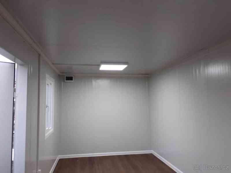 Obytná buňka 240x600 cm, včetně mříží na okna i dveře  - foto 8
