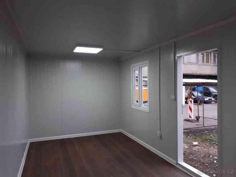 Obytná buňka 240x600 cm, včetně mříží na okna i dveře  - foto 7