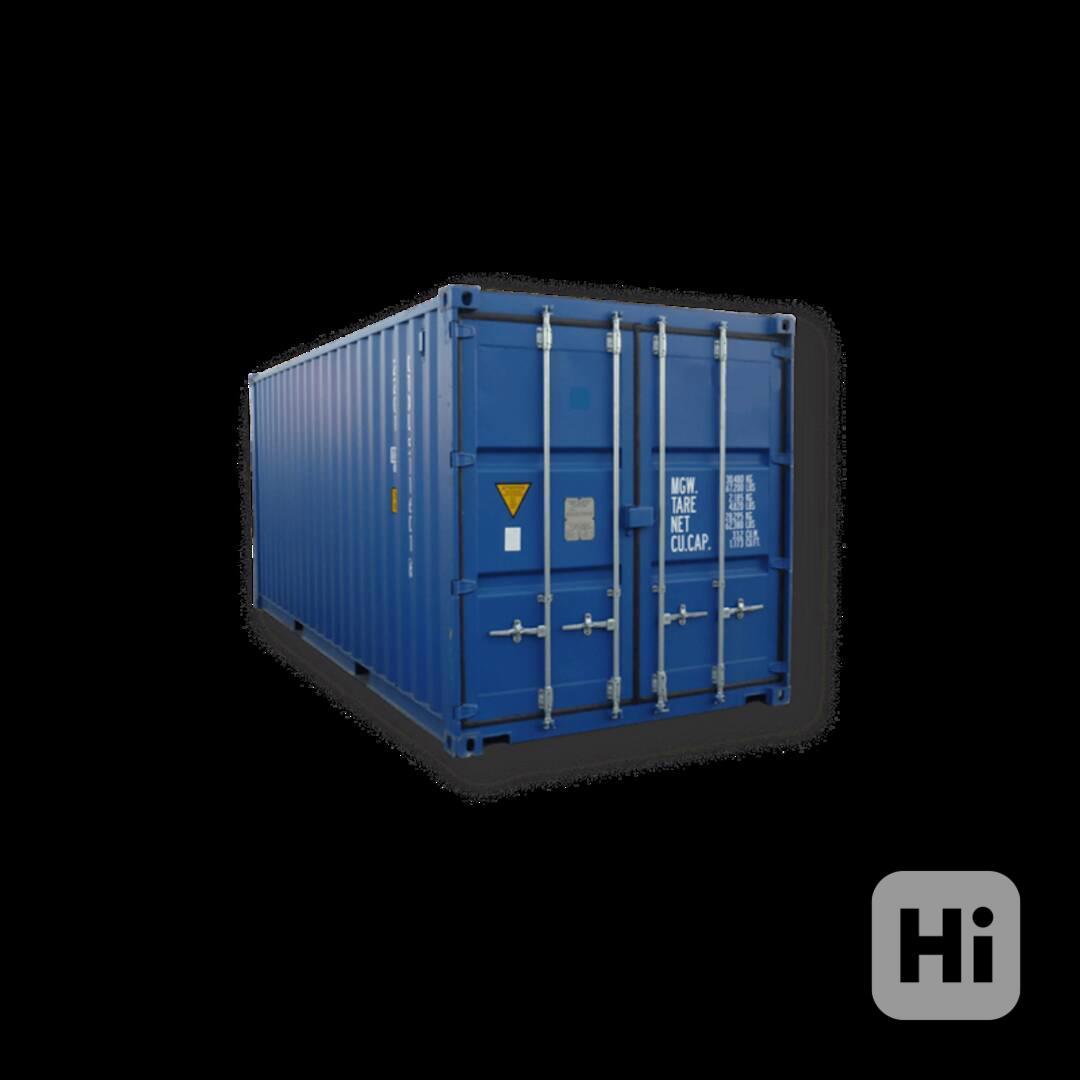 nový kontejner na prodej, rychlé dodání - foto 1