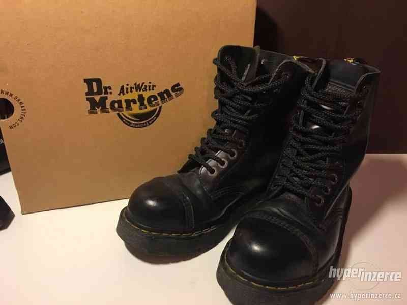 Dr.Martens šněrovací kožené boty