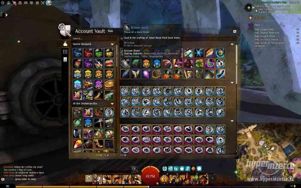 Prodám učet guild wars 2 - foto 5