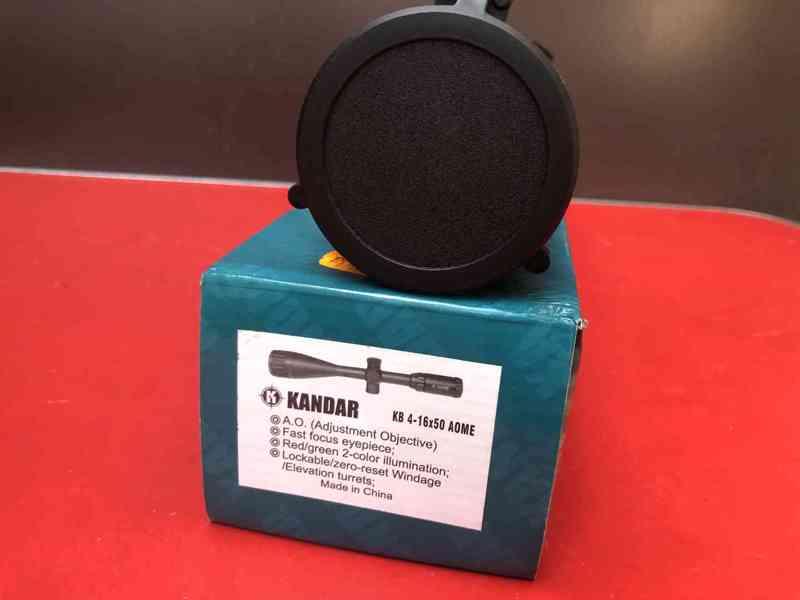 Profesionální puškohled Kandar 4-16x50 +paralaxe 4-16x50 je  - foto 3