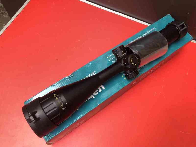 Profesionální puškohled Kandar 4-16x50 +paralaxe 4-16x50 je