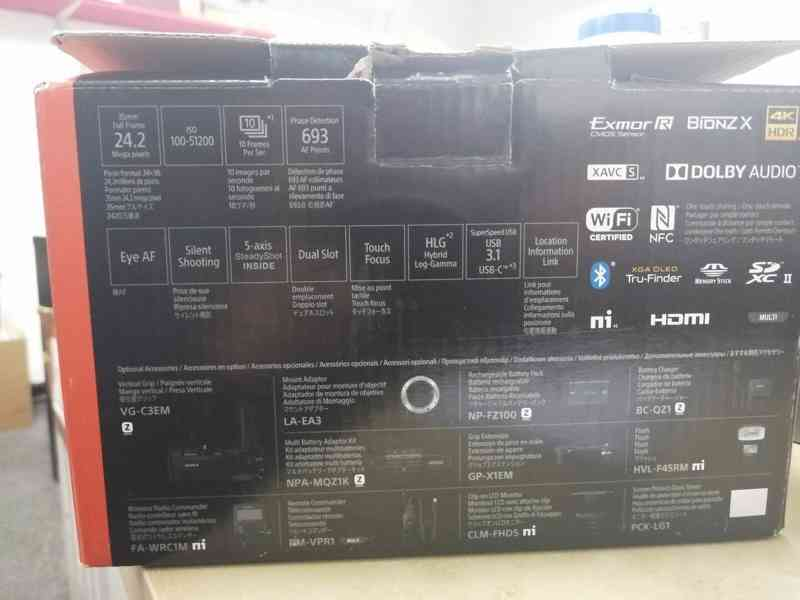 Sony a7 III Mark 3 Mirrorless 4K HDR FullFrame BODY - foto 2