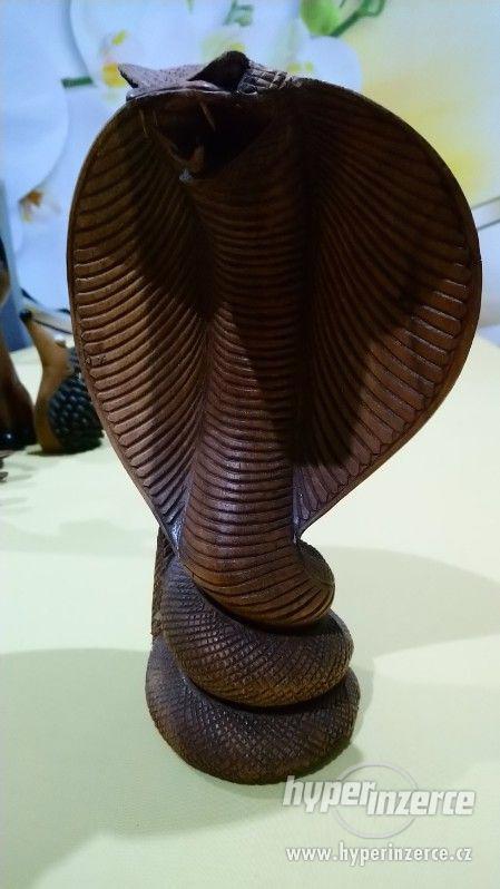 sbírka dřevěných figurek - foto 6