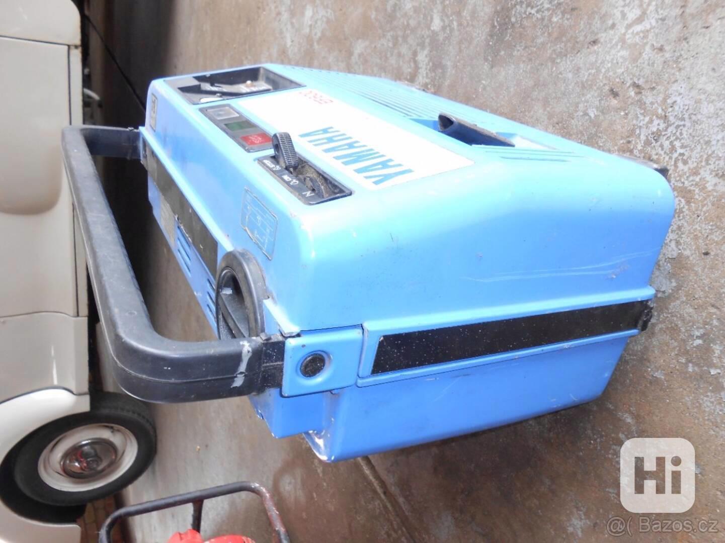 modry kufrikovy Yamaha tichy generator funguje - foto 1