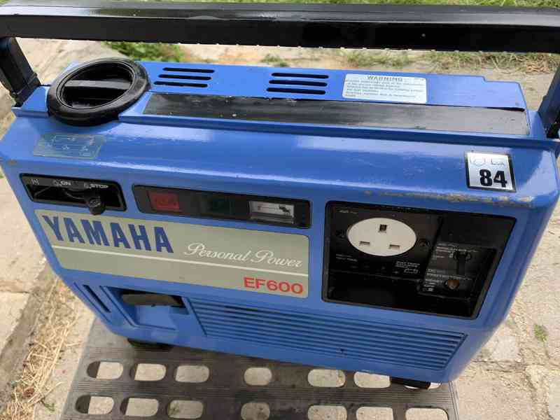 modry kufrikovy Yamaha tichy generator funguje - foto 4