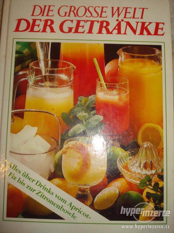 Kniha míchaných nápoju v němčině