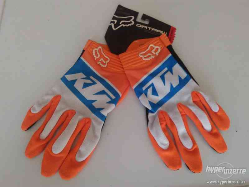 FOX KTM MX rukavice