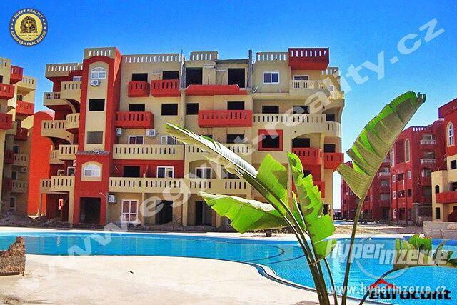 EGYPT REALITY - Prodej apartmánu 1+kk v novém resortu blízko