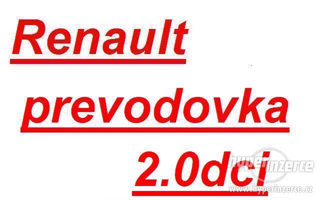 Renault prevodovka Trafic 2.0dci prevodovka trafic PF6 prevo