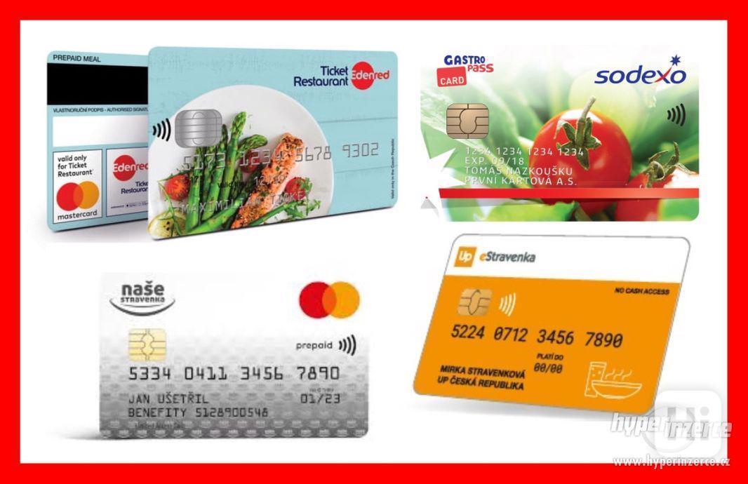 Odčerpání kreditu z vaší stravenkové karty – za hotovost! - foto 1