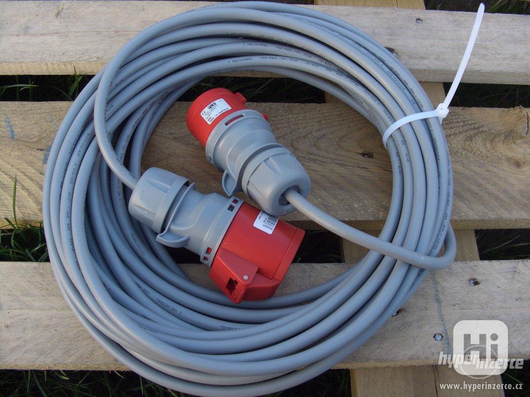 Levně prodlužovací kabel 380 V utáhne cokoli ! -! - foto 1