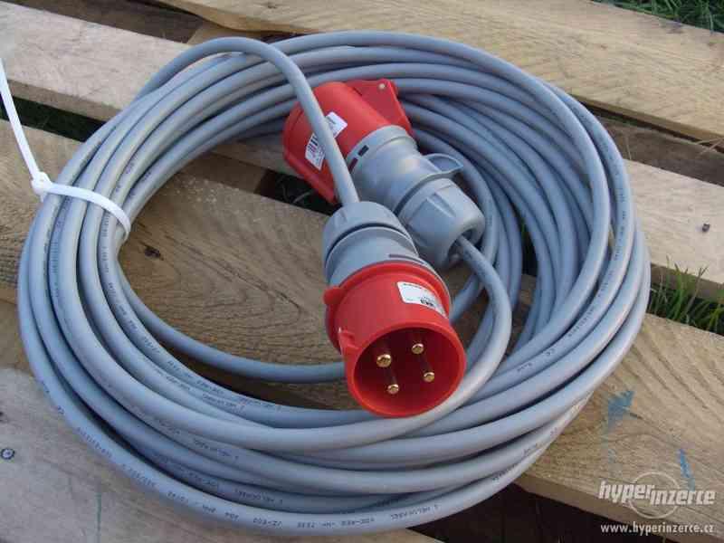 Levně prodlužovací kabel 380 V utáhne cokoli ! -! - foto 2