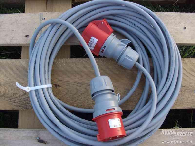 Levně prodlužovací kabel 380 V utáhne cokoli ! -! - foto 3