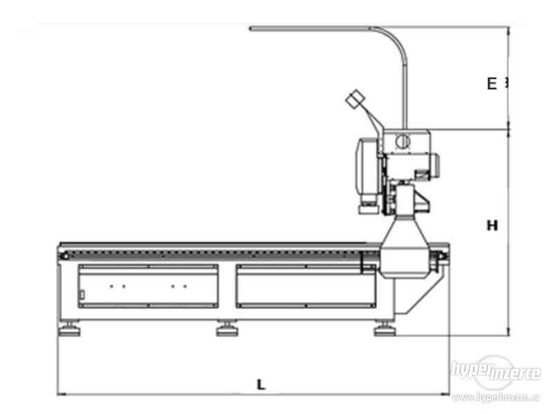 CNC průmyslová frézka INDUSTRY F1530-3K (1500x3000) - foto 4