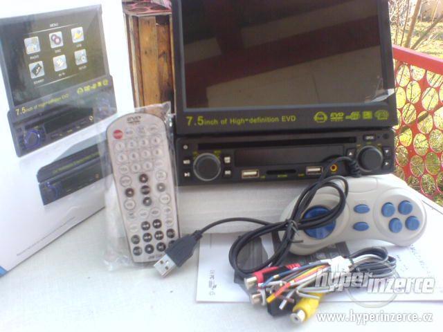 AUTORÁDIO S DVD s  GPS MP3+KARTA+USB+dálkový ov - foto 1