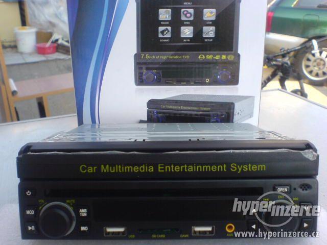 AUTORÁDIO S DVD s  GPS MP3+KARTA+USB+dálkový ov - foto 3