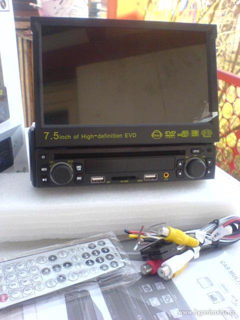 AUTORÁDIO S DVD s  GPS MP3+KARTA+USB+dálkový ov - foto 6