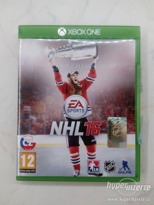 Hra NHL 2016 na Xbox One