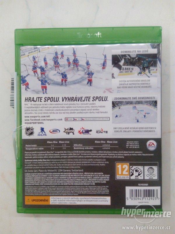 Hra NHL 2016 na Xbox One - foto 3