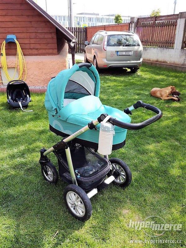 Kombinovaný kočár Baby Design Lupo - foto 1