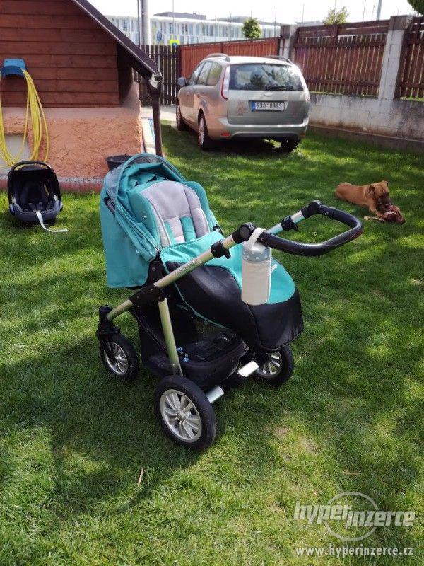 Kombinovaný kočár Baby Design Lupo - foto 3
