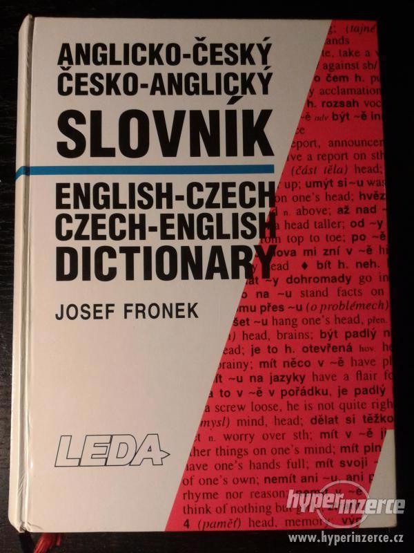 Anglicko-český, česko-angický - foto 1