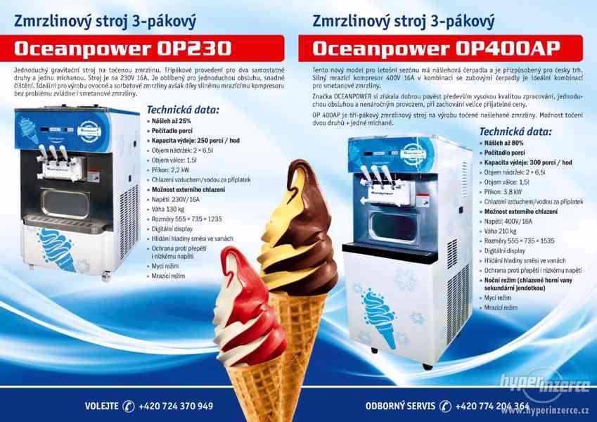 PRODÁM Zmrzlinový stroj 2+1 mix 230V - foto 1
