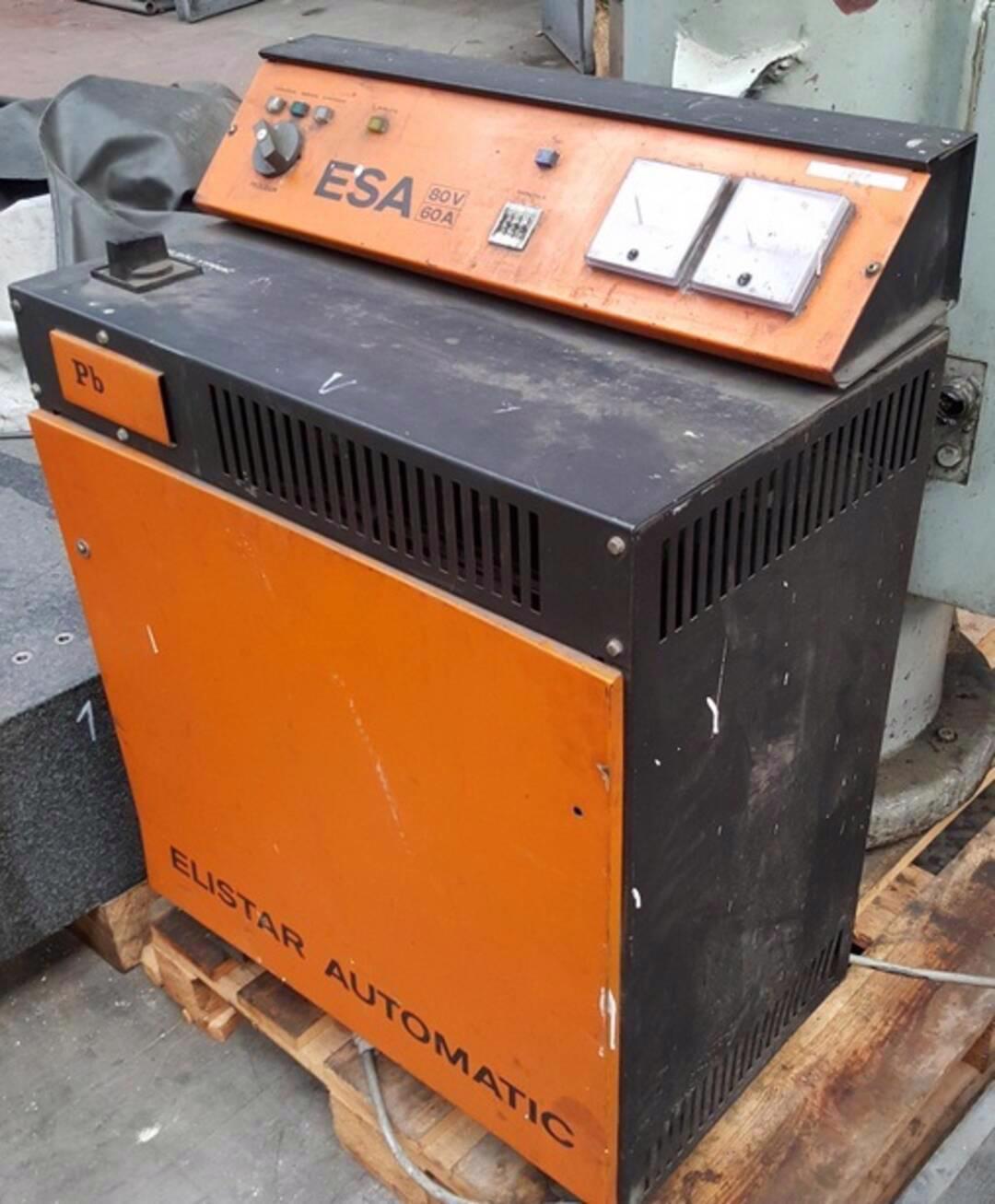 Nabíječ akumulátoru ESA 80/60 (10287.) - foto 1