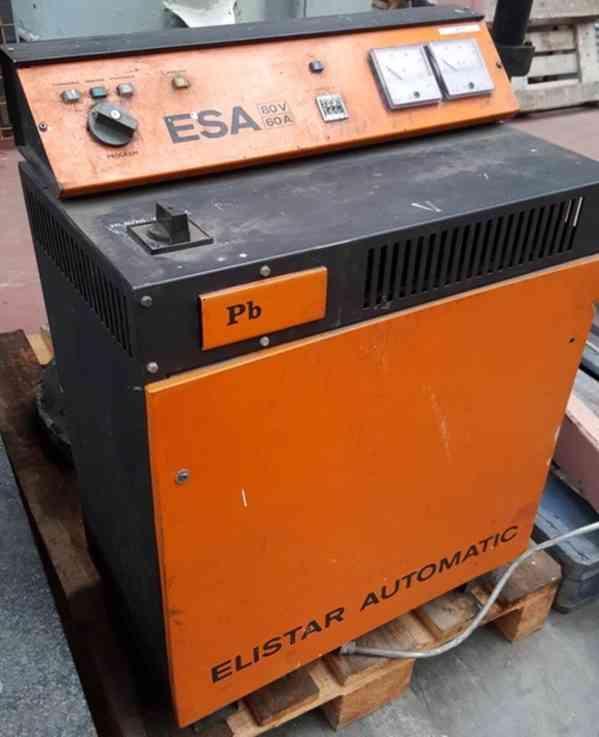 Nabíječ akumulátoru ESA 80/60 (10287.) - foto 3