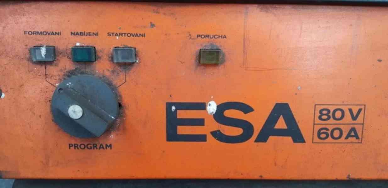 Nabíječ akumulátoru ESA 80/60 (10287.) - foto 2