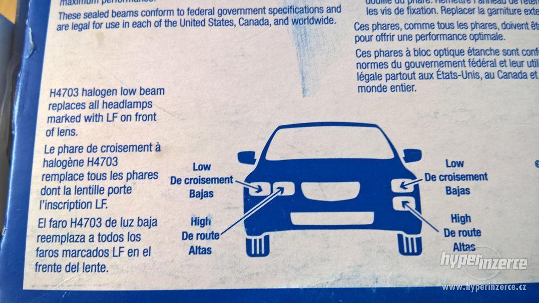 Světlomety na starší US auta (80. - 90. léta) - foto 6